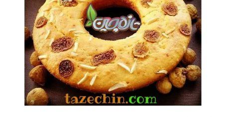 طرز تهیه کیک با انجیر خشک