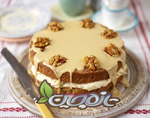 کیک گردویی